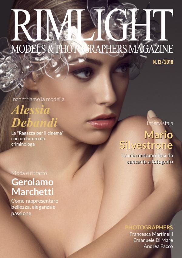 RIMLIGHT Models & Photographers Magazine N.13/2018