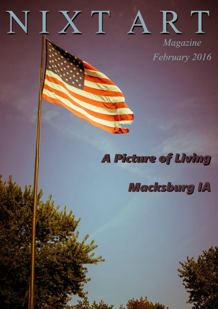 Nixt Art Magazine Macksburg, IA