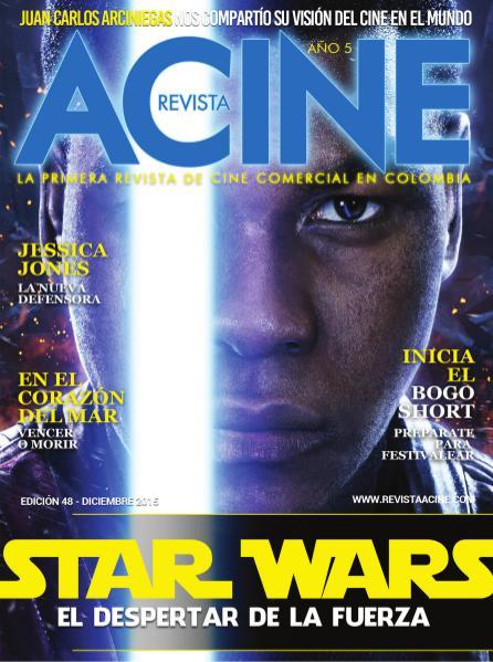 Revista Acine Edición Diciembre de 2015 Dec. 2015