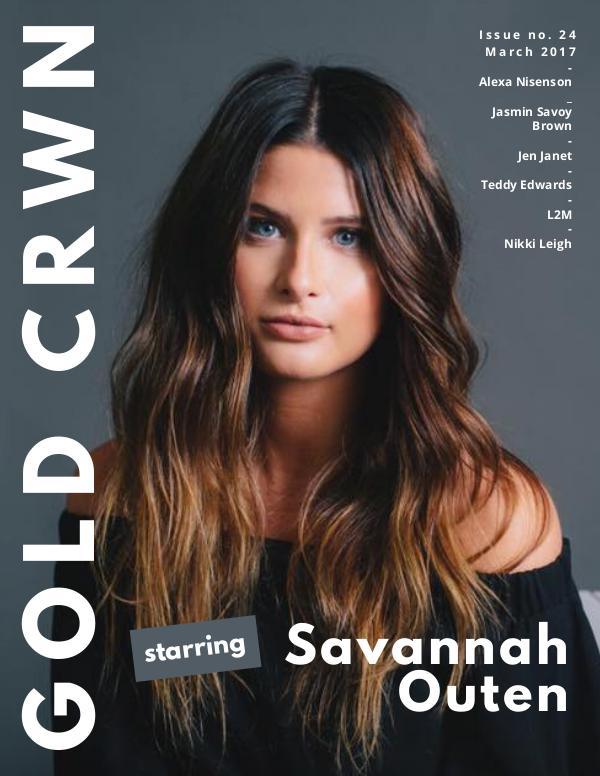 ISSUE 24 // SAVANNAH OUTEN