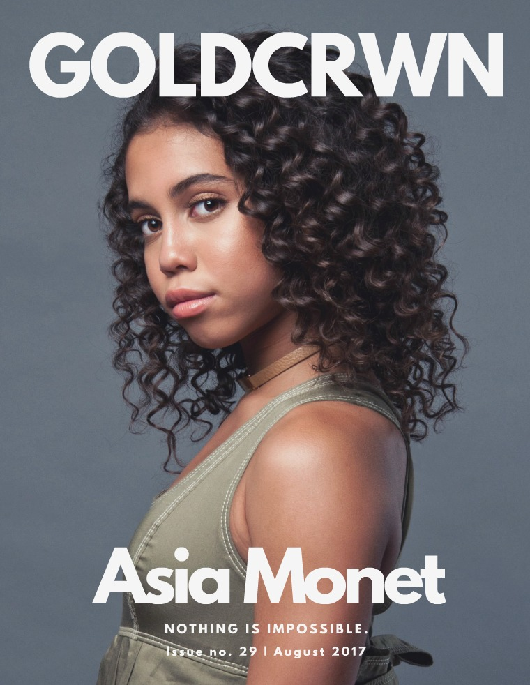 Gold Crwn Magazine August 2017