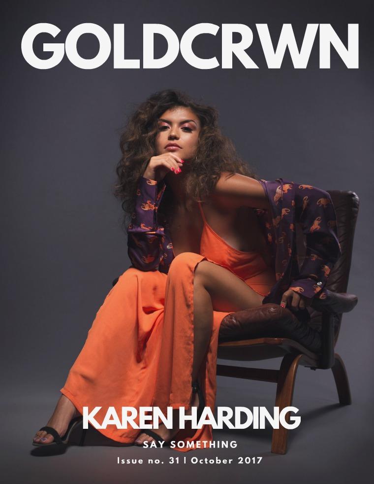 Gold Crwn Magazine ISSUE 31 / Karen Harding & Sabryna