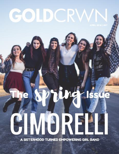 APRIL 2016 X CIMORELLI X SPRING