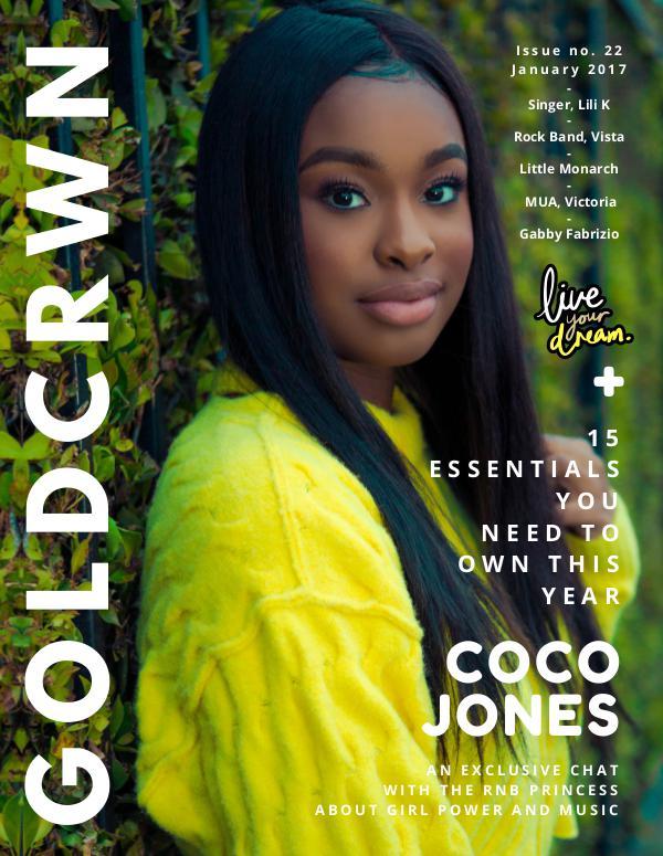 Gold Crwn Magazine ISSUE // COCO JONES