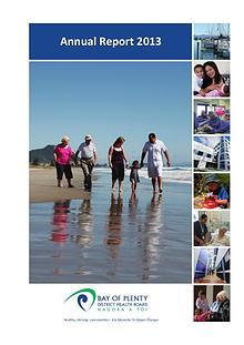 BOPDHB Annual Report 2013