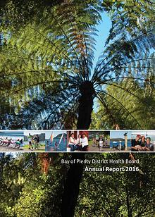 BOPDHB Annual Report 2016