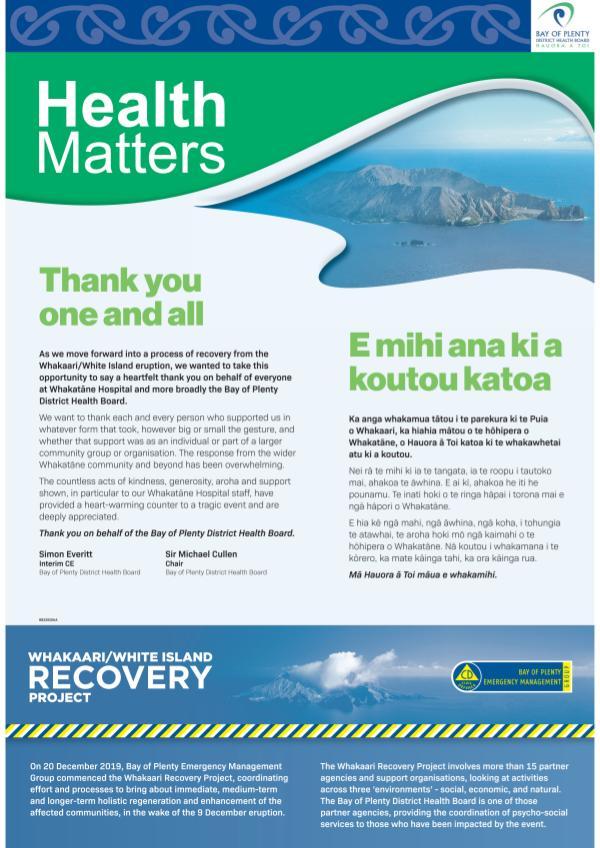 Health Matters EBOP February 2020