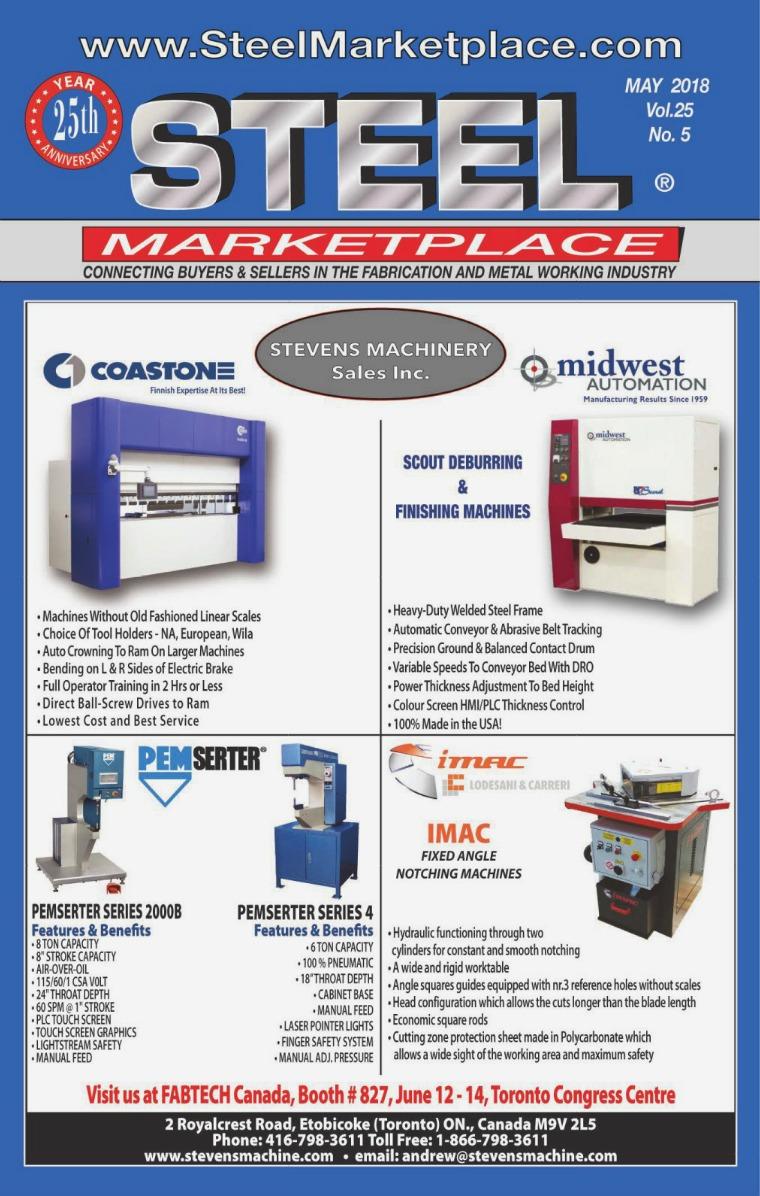 Steel Marketplace STEEL MARKETPLACE MAY 2018