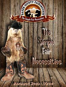 2019 Baker County Fair Book