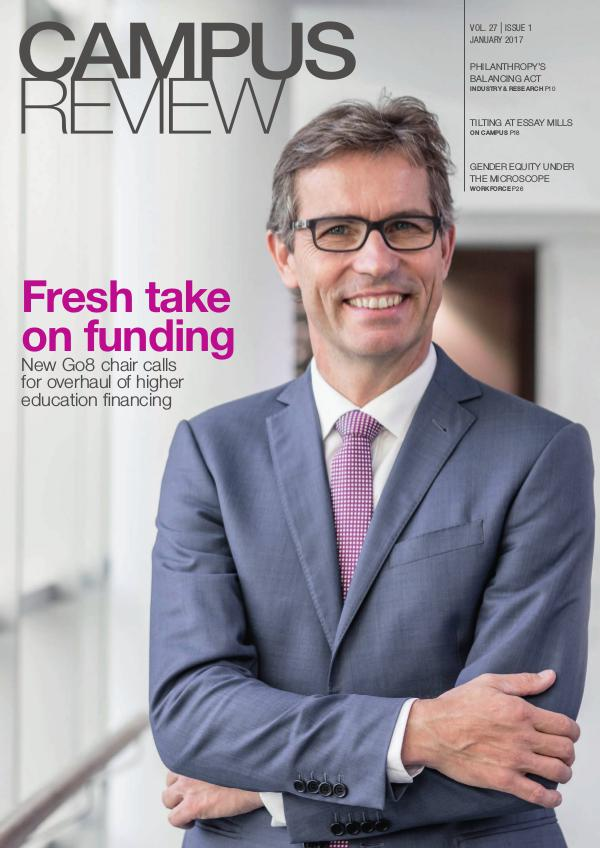 Campus Review Volume 27. Issue 01   January 17