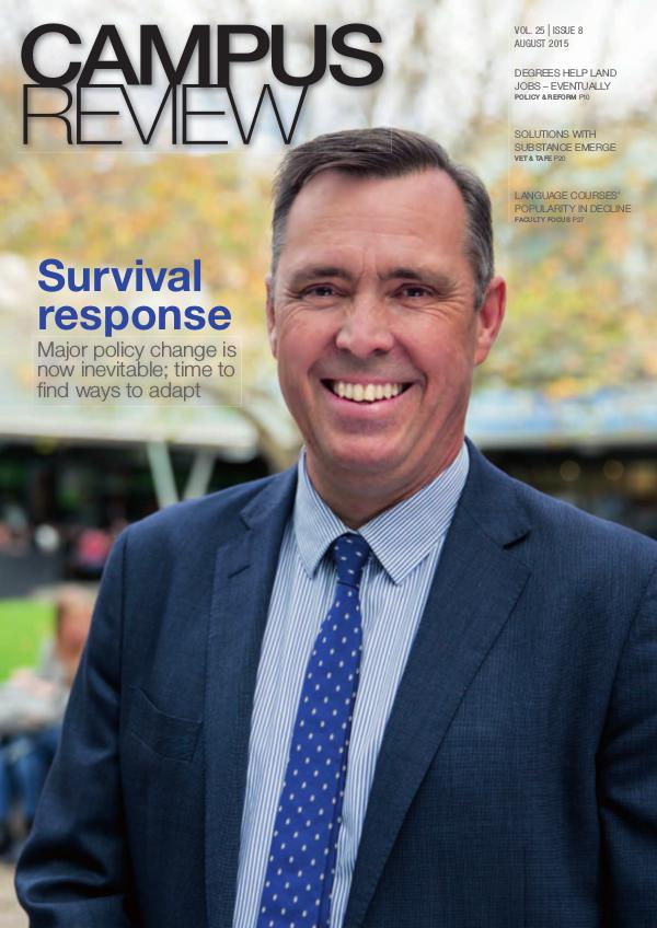 Campus Review Volume 25. Issue 8
