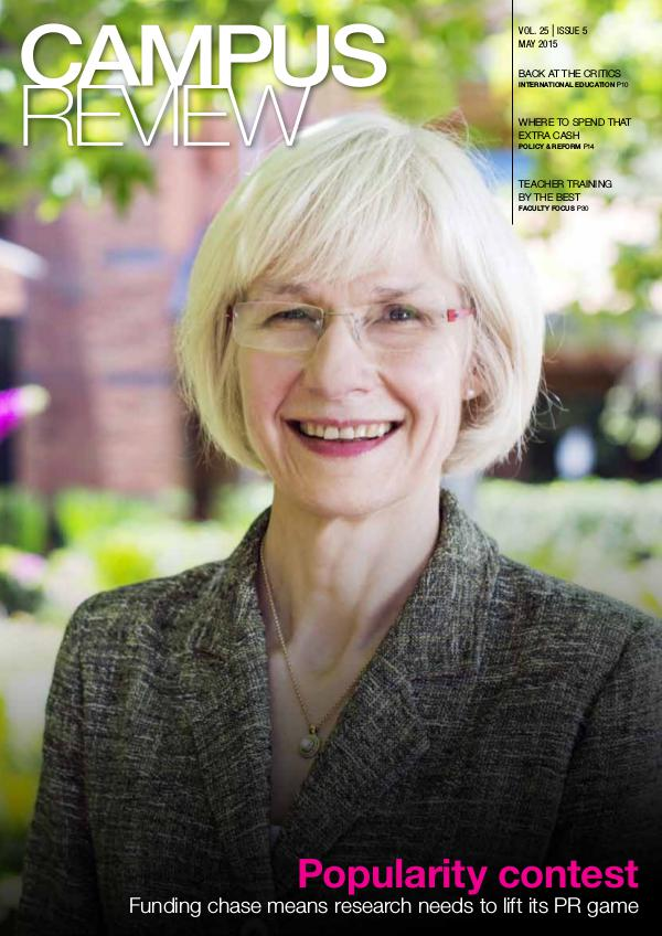 Campus Review Volume 25. Issue 5