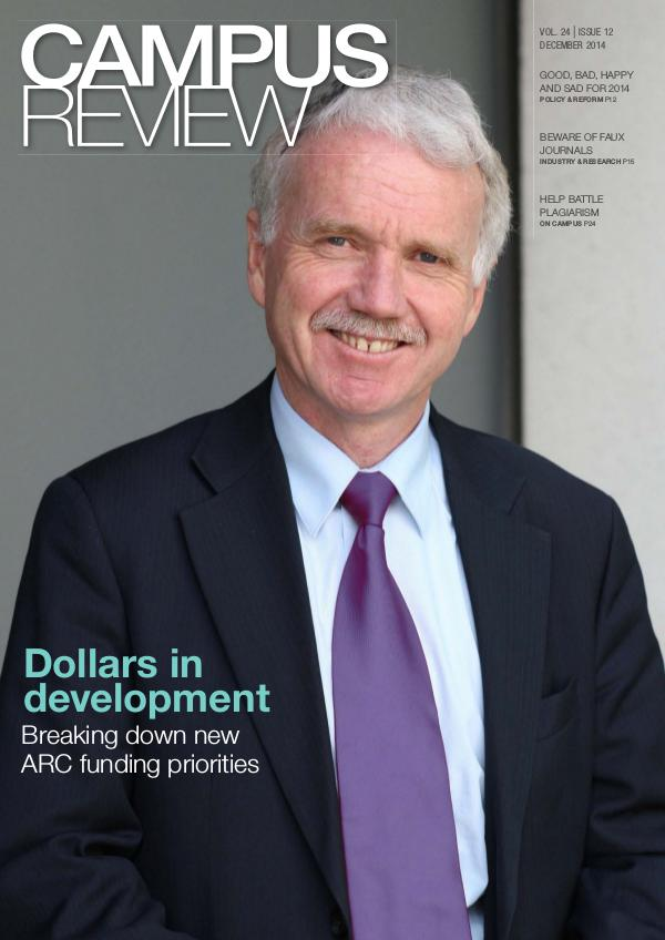 Campus Review Volume 24. Issue 12