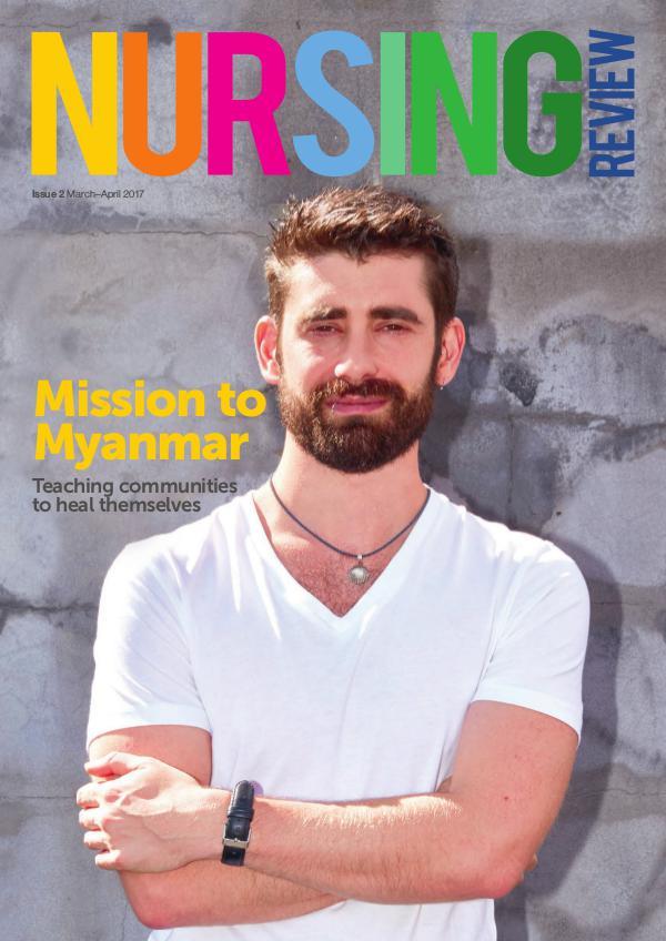 Nursing Review Issue 2   Mar-April 2017