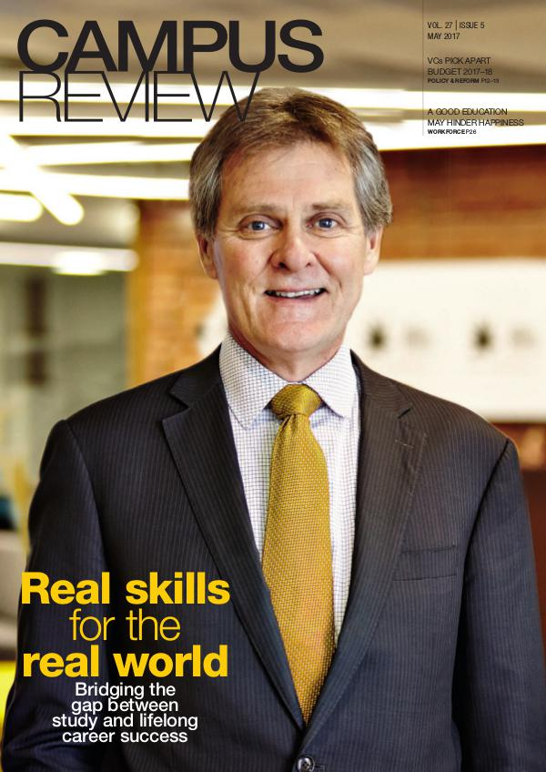 Campus Review Volume 27. Issue 05   May 17
