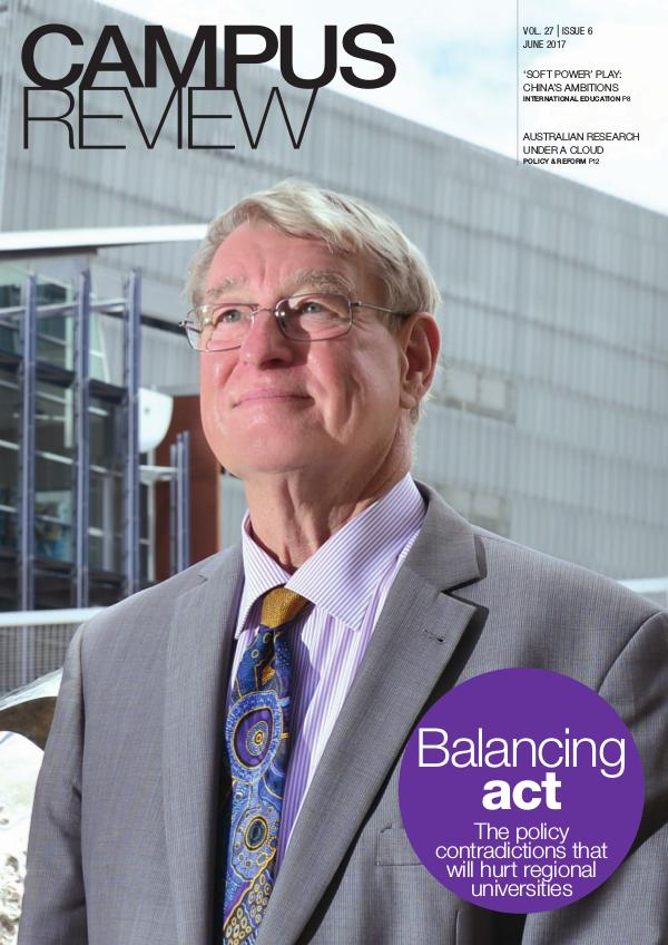 Campus Review Volume 27. Issue 06   June 17