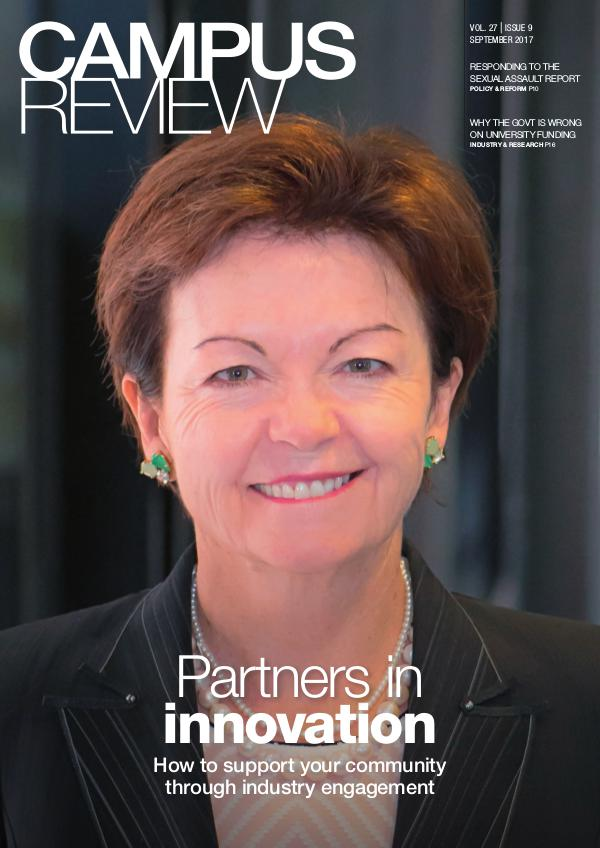 Campus Review Volume 27. Issue 09   September 17