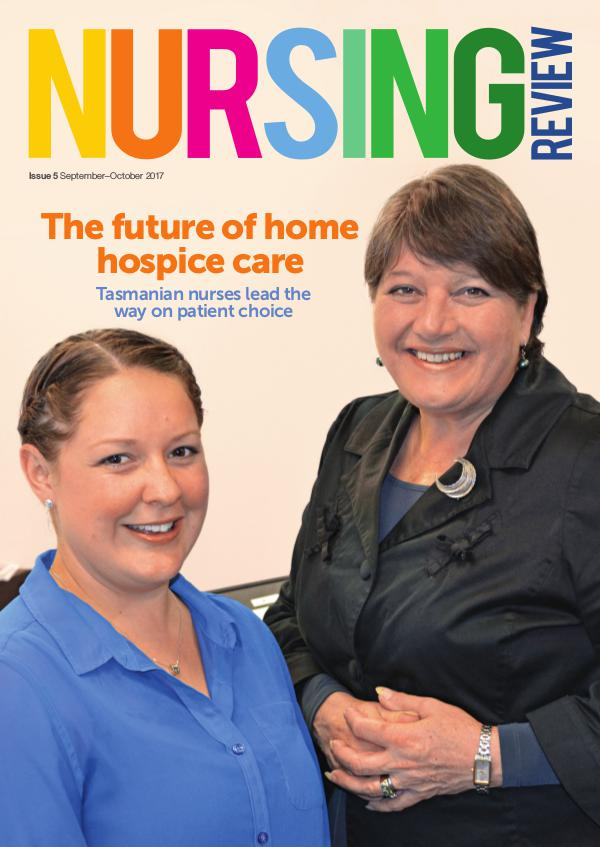 Nursing Review Issue 5 | Sep-Oct 2017