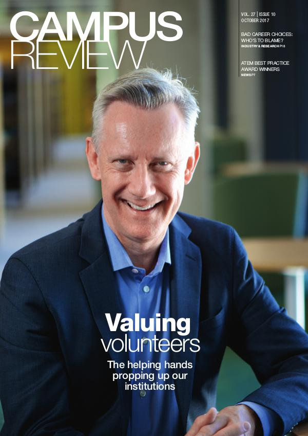 Campus Review Volume 27. Issue 10   October 17