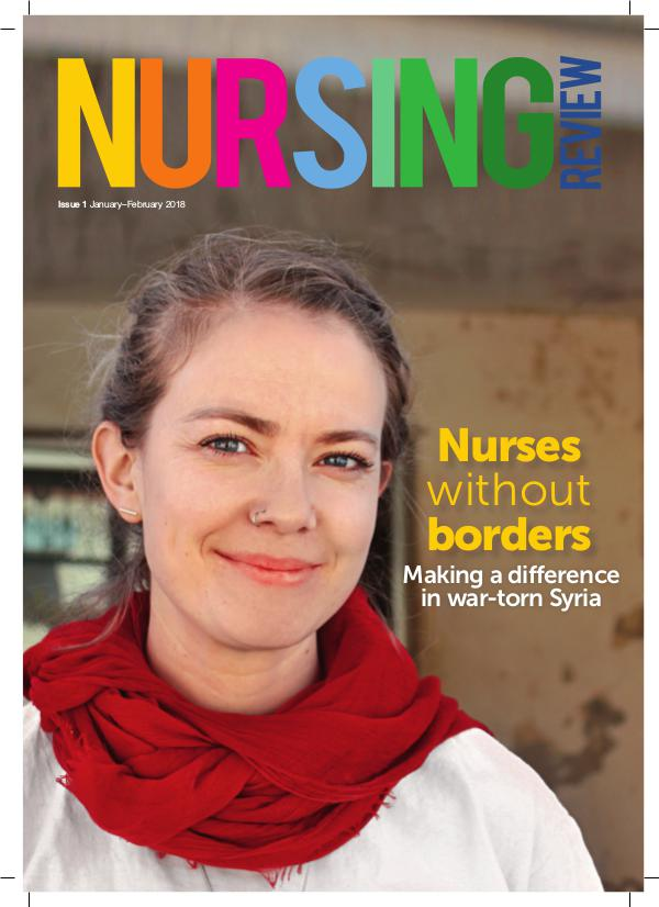 Nursing Review Issue 1   Jan-Feb 2018