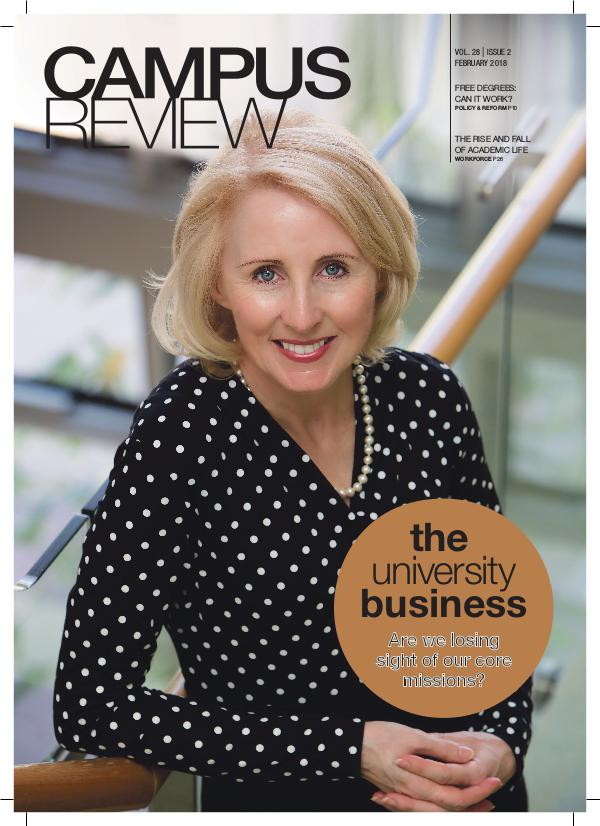 Campus Review Volume 28 - Issue 2   February 2018