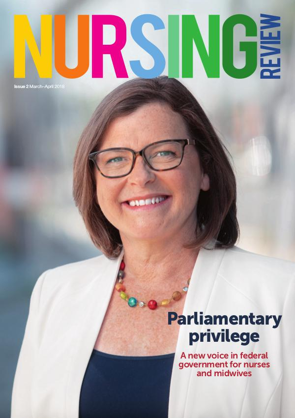 Nursing Review Issue 2   Mar-Apr 2018