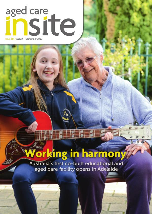 Aged Care Insite ACI Emag Issue 114 Aug-Sep 2019