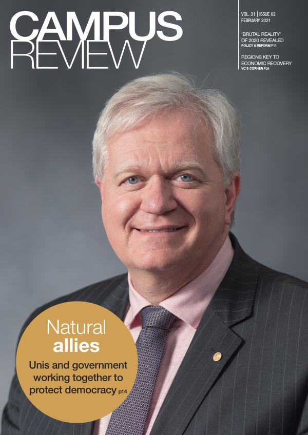 Campus Review Vol 31. Issue 02 - February 2021