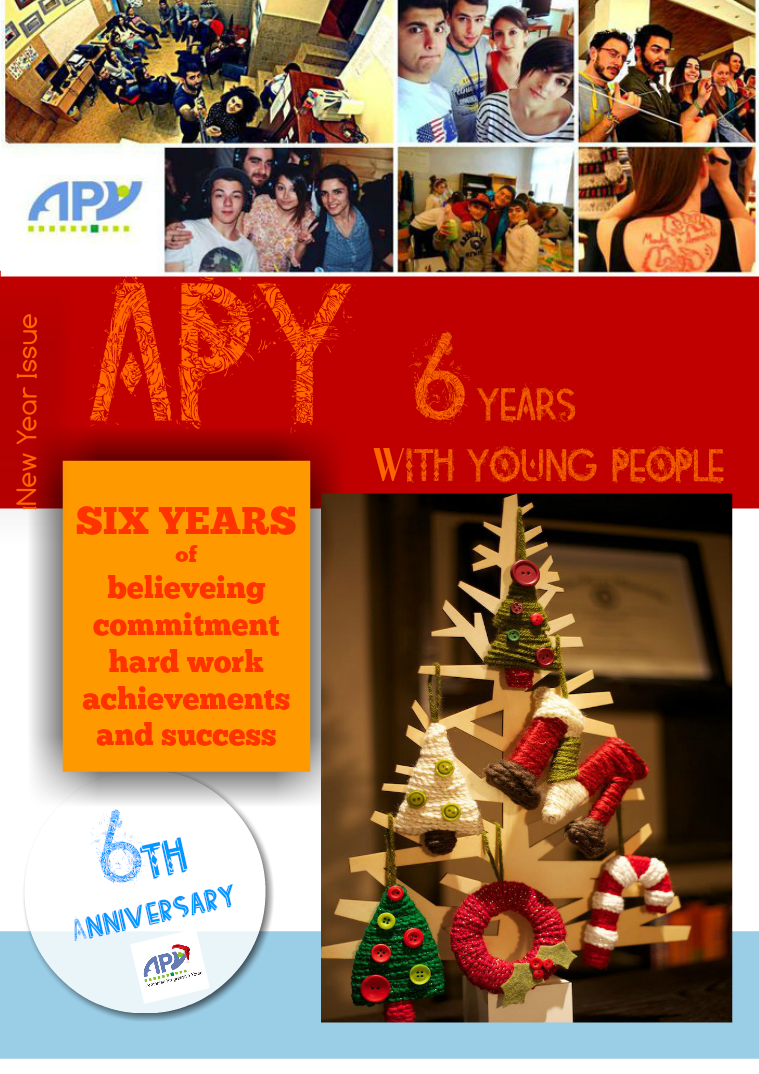 Armenian Progressive Youth NGO APY. 6 Years with Young People