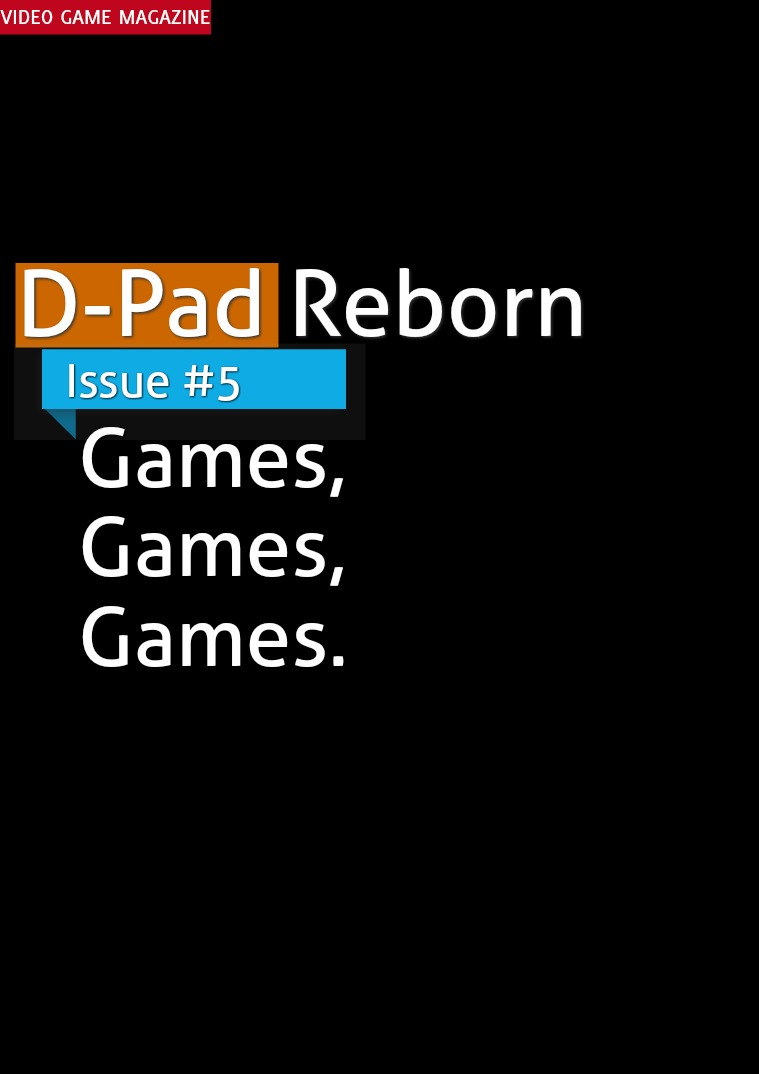 D-Pad - Issue #5 - September 2017