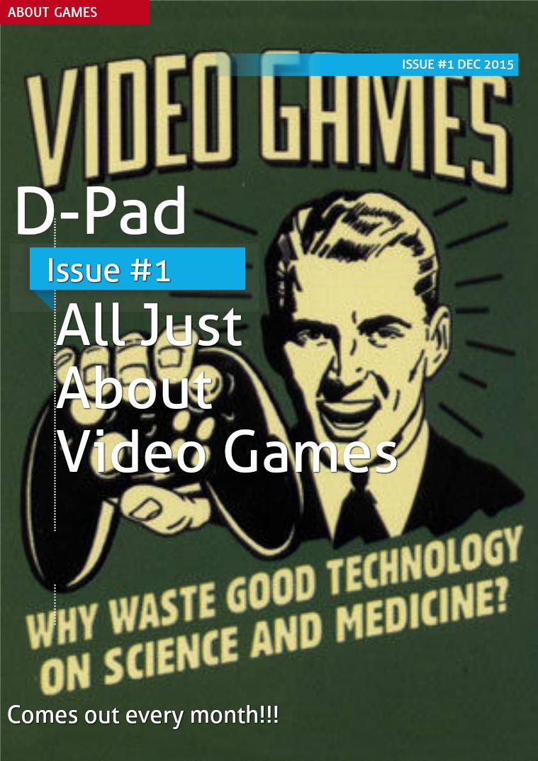 D-Pad D-Pad - Issue #1 - Dec 2015