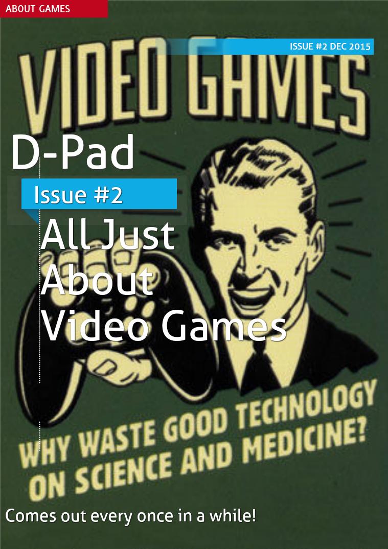 D-Pad - Issue #2 - Dec 2015
