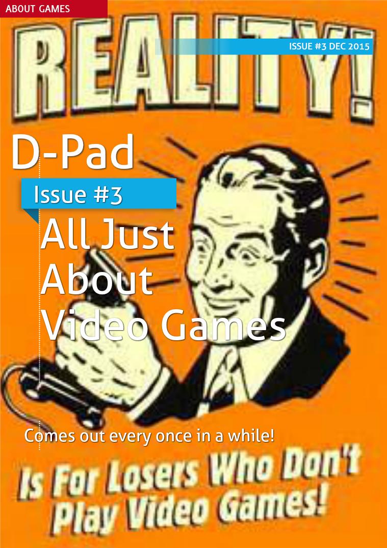 D-Pad - Issue #3 - Dec 2015