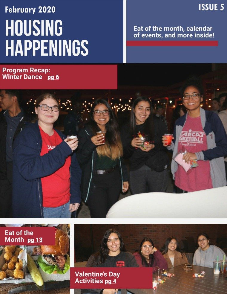 Housing Happenings Issue Four (Spring 2020)