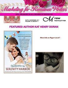 Marketing for Romance Writers Newsletter