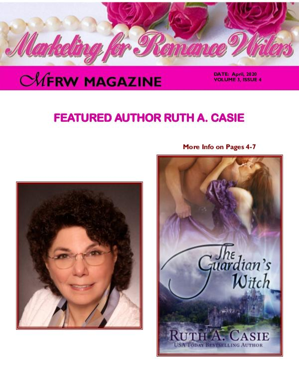 Marketing for Romance Writers Magazine April, 2020 Volume # 3, Issue # 4