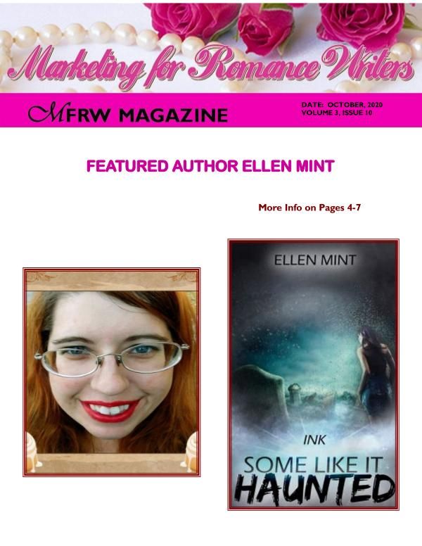 Marketing for Romance Writers October, 2020, Volume # 3, Issue # 10
