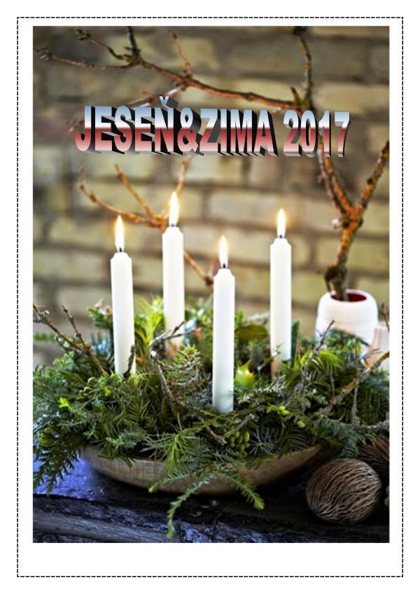Školský časopis DVOJKA Dvojka_jesenzima2017