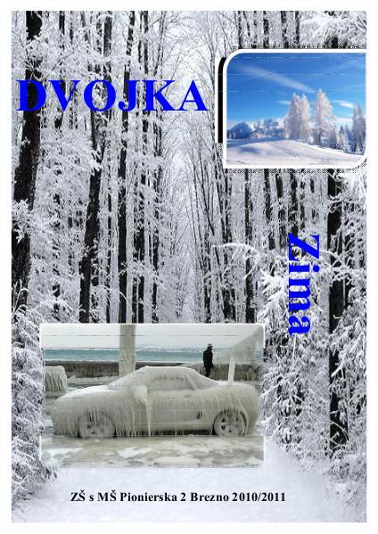 Školský časopis DVOJKA