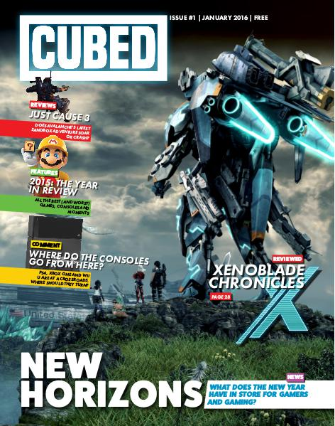 Cubed Issue #1, January 2016