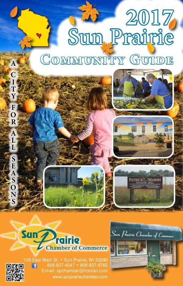 2017 Community Guide Sun Prairie Wisconsin 2017 Community Guide