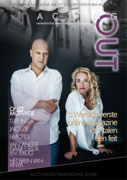 ActingOutMagazine Dutch edition ActingOut No. 1 -Nederlandse editie