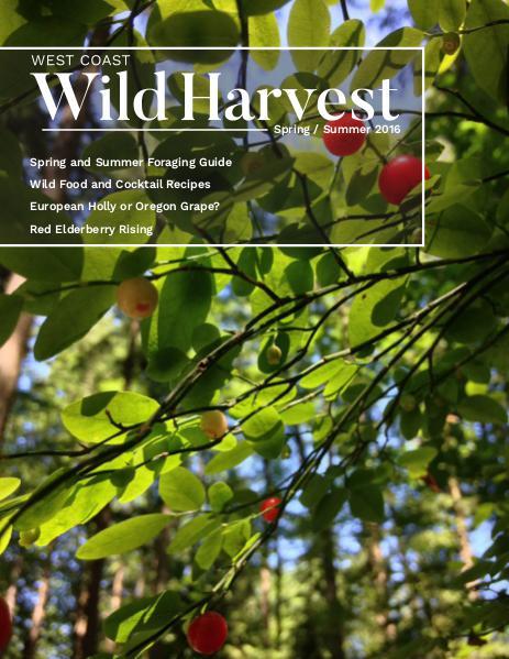 West Coast Wild Harvest Issue 1 Spring/Summer 2016