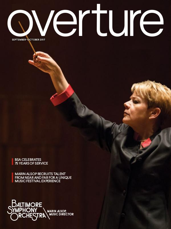 Overture Magazine: 2017-2018 Season September-October 2017