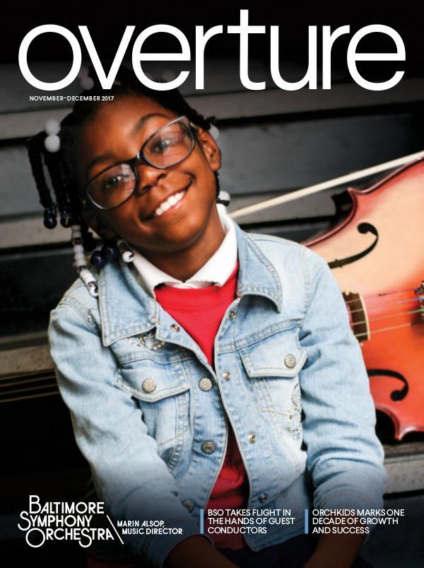 Overture Magazine: 2017-2018 Season November-December 2017