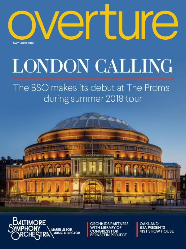 Overture Magazine: 2017-2018 Season May-June 2018
