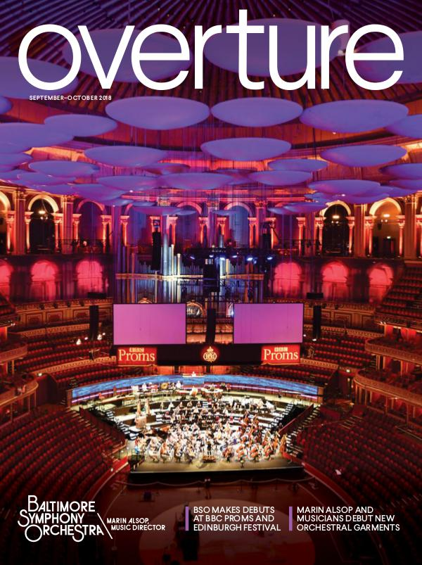 Overture Magazine: 2018-19 Season Sept-Oct 2018