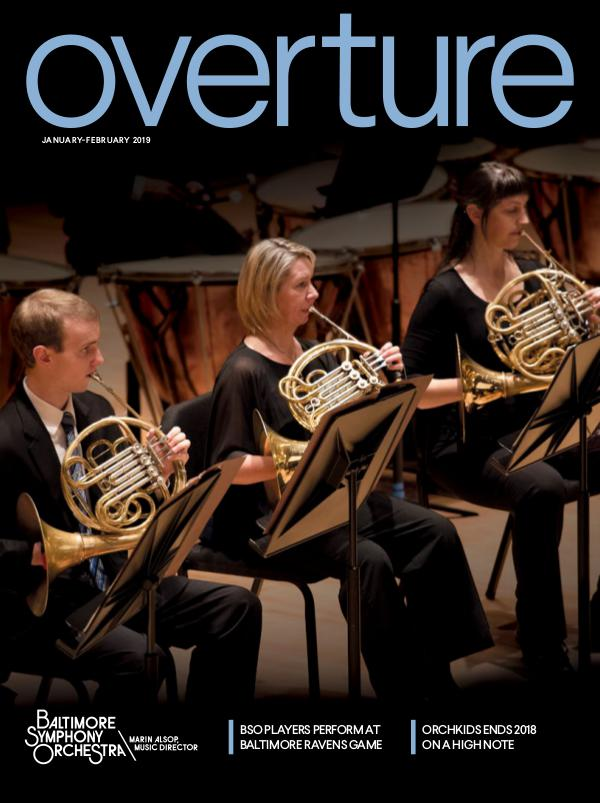 Overture Magazine: 2018-19 Season Jan-Feb 2019