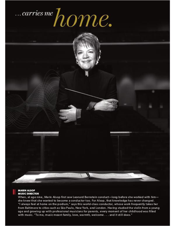 Resounding Campaign Profiles Marin Alsop profile