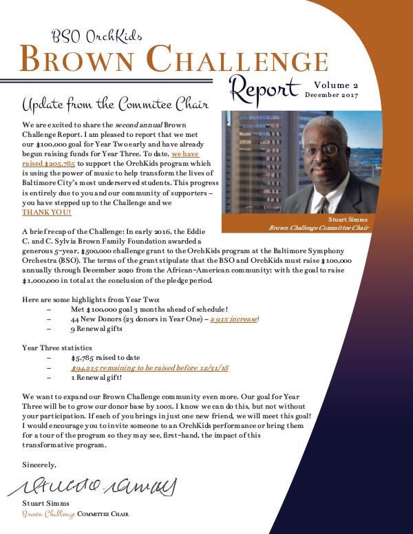 Resounding Campaign Profiles Brown Challenge Report Year2